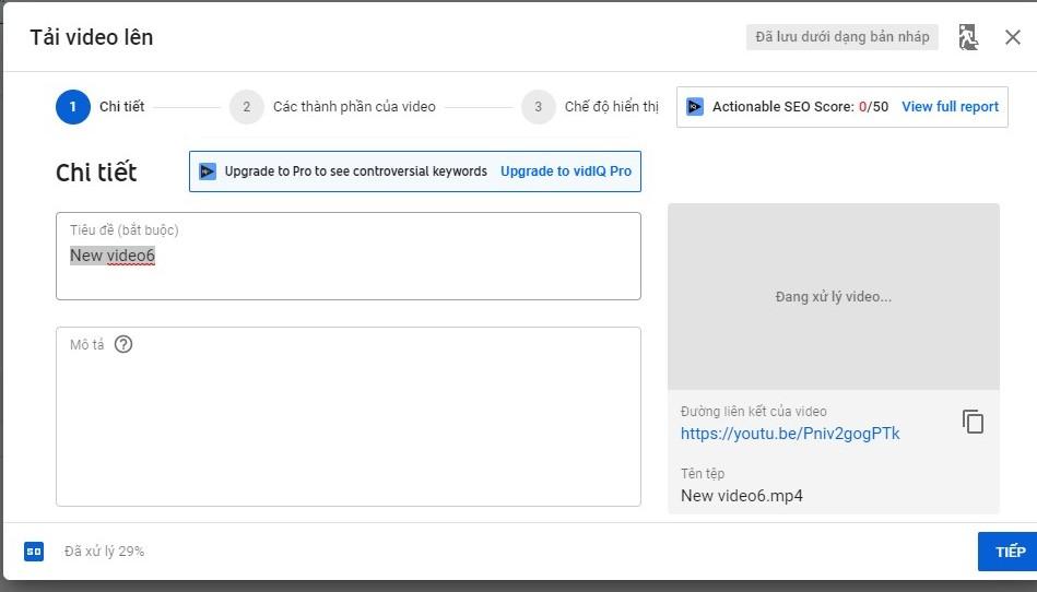 Hướng dẫn đặt backlink youtube