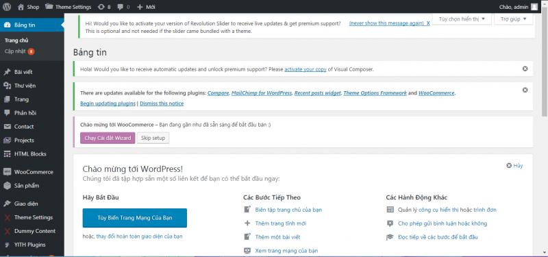 Hướng Dẫn Quản Trị Website WordPress