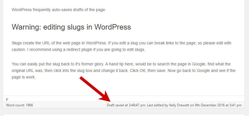 chỉnh sửa trang với WordPress