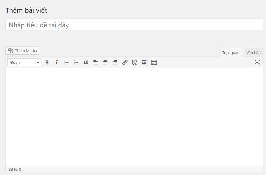 Cách đăng bài viết