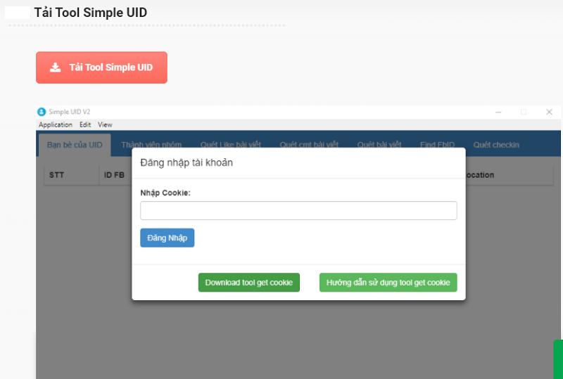 Cách sử dụng Simple UID