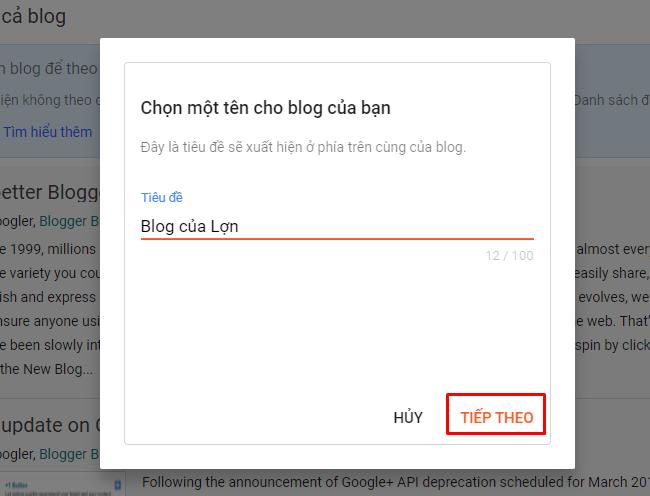 hướng dẫn tạo blogspot chuyên nghiệp
