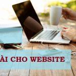 dịch vụ viết bài cho website