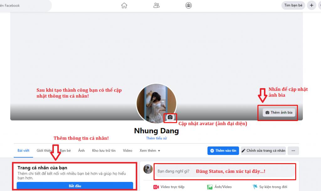 cách tạo tài khoản facebook