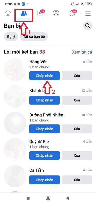 cách tìm bạn bè trên facebook