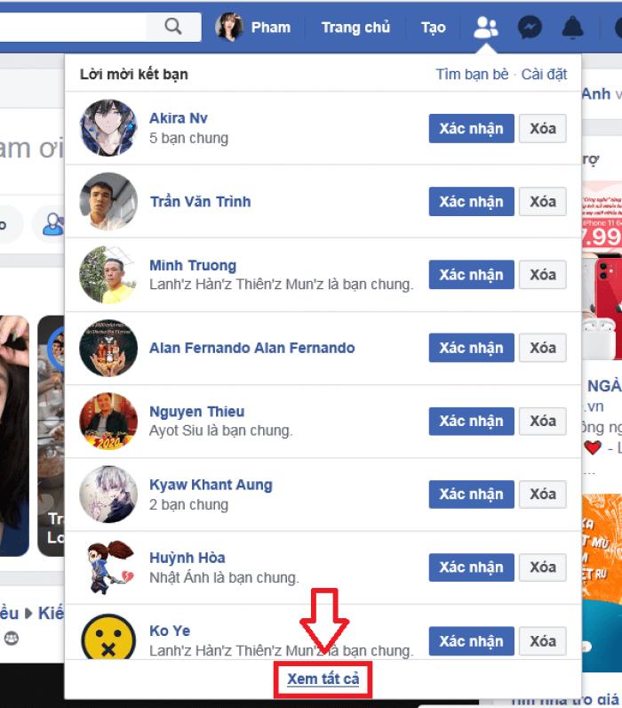 8 Tuyệt chiêu tăng tương tác trên facebook cá nhân 100% hiệu quả Xem-danh-sach-da-gui-ket-ban-va-huy-ket-ban-facebook-02-700x796-1