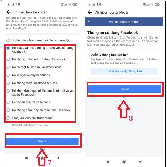 cách khóa tài khoản facebook