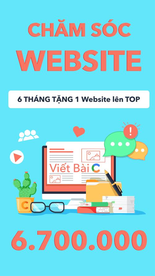 dich vu viet bai cham soc website