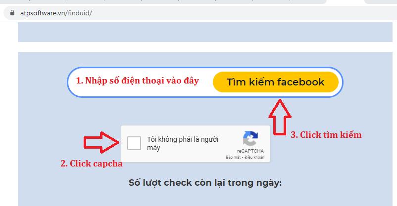 tìm facebook bằng số điện thoại